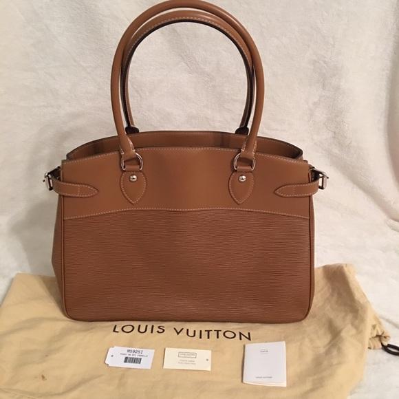 Louis Vuitton Handbags - Louis Vuitton Cannelle Epi Leather Passy GM Bag 445f25969c